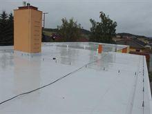Oprava a zateplení ploché střechy mateřské školy v Trnavě