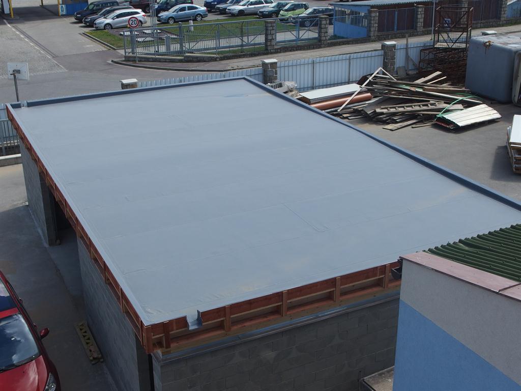 Hydroizolace rovné střechy