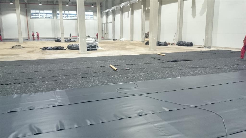 Izolace podlahy proti spodní vodě