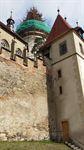 Izolace   Velké válcové věže - hrad Křivoklát