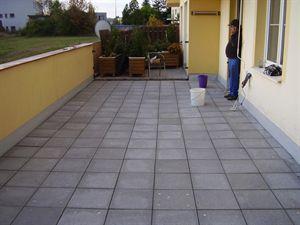 Oprava dlažby na terase