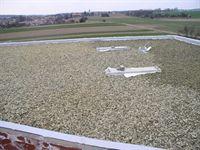 izolace střech, izolace ploché střechy