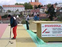 izolace střech zateplení ploché střechy